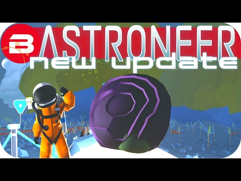 Astroneer Gameplay - NEW UPDATE: SPACESHIP MUSEUM & DRAGON EGG!!! Lets Play Astroneer Experimental