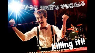 Brendon Urie´s vocals KILLING IT!! singing covers (Queen, Sinatra, Billy Joel, Bee Gees, ....)