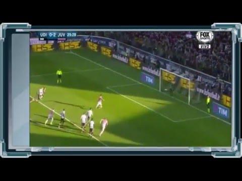 Highlights Juventus 4 - 0 Udinese 17 January 2016