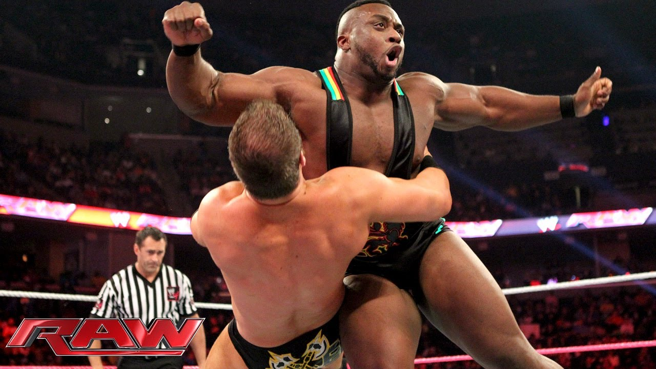 CM Punk & Big E Langston vs. Ryback & Curtis Axel: Raw, Oct. 21, 2013