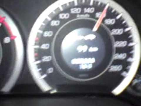 honda accord 2009 2.0 0-200 kmh
