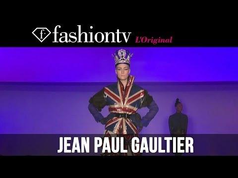 Cora Emmanuel at Jean Paul Gaultier Fall/Winter 2014-15 | Paris Fashion Week PFW | FashionTV