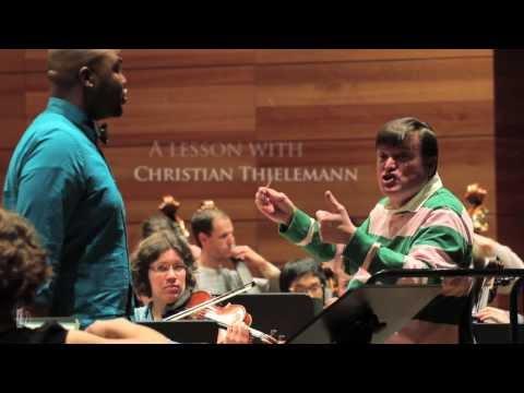 A lesson with Christian Thielemann