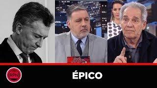 *ÉPICO* El peronista Hugo Arana le llenó la cara de dedos a Macri, Doman y los Intratables