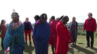 Ridge with Osiligi Maasai Warriors and the Avalonian Free State Choir