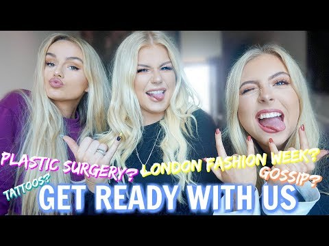 GET READY WITH US FT LOTS OF LAUGHING AND SYD & ELL!!!!! | Lucy Flight