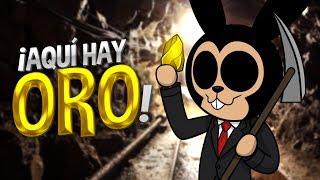 ROBLOX: EN ESTE JUEGO PUEDES ENCONTRAR ORO !! | Gold Venture