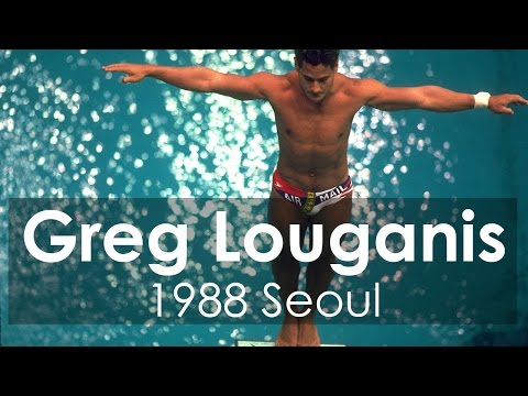 Greg Louganis Hits Head, Wins Diving Gold For U.S. At 1988 Olympic Games