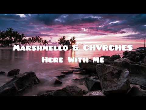 Marshmello & CHVRCHES - Here With Me Testo e Traduzione