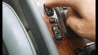 Программирование стеклоподъемников на Mercedes W210 / Обучение стеклоподъёмников после снятие АКБ