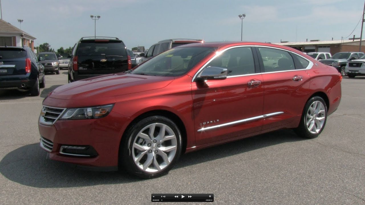 2014 Chevrolet Impala LTZ V6 Start Up, Exhaust, And In Depth Review    YouTube