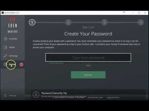 How to Backup and Restore a wallet