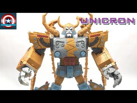 Transformers Platinum Edition Unicron Transformers The Movie 30th Anniversary