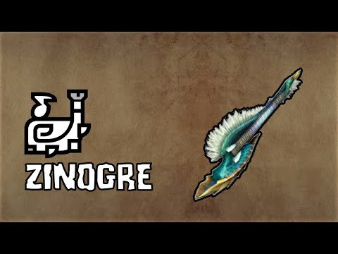 MHW Iceborne - Zinogre Hunting Horn Stats And Sounds