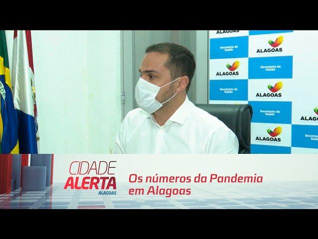 Entrevista coletiva com Alexandre Ayres, sobre os números da Pandemia em Alagoas