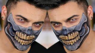 Mad Max Half Skull Makeup Tutorial | Alex Faction | Jordan Hanz