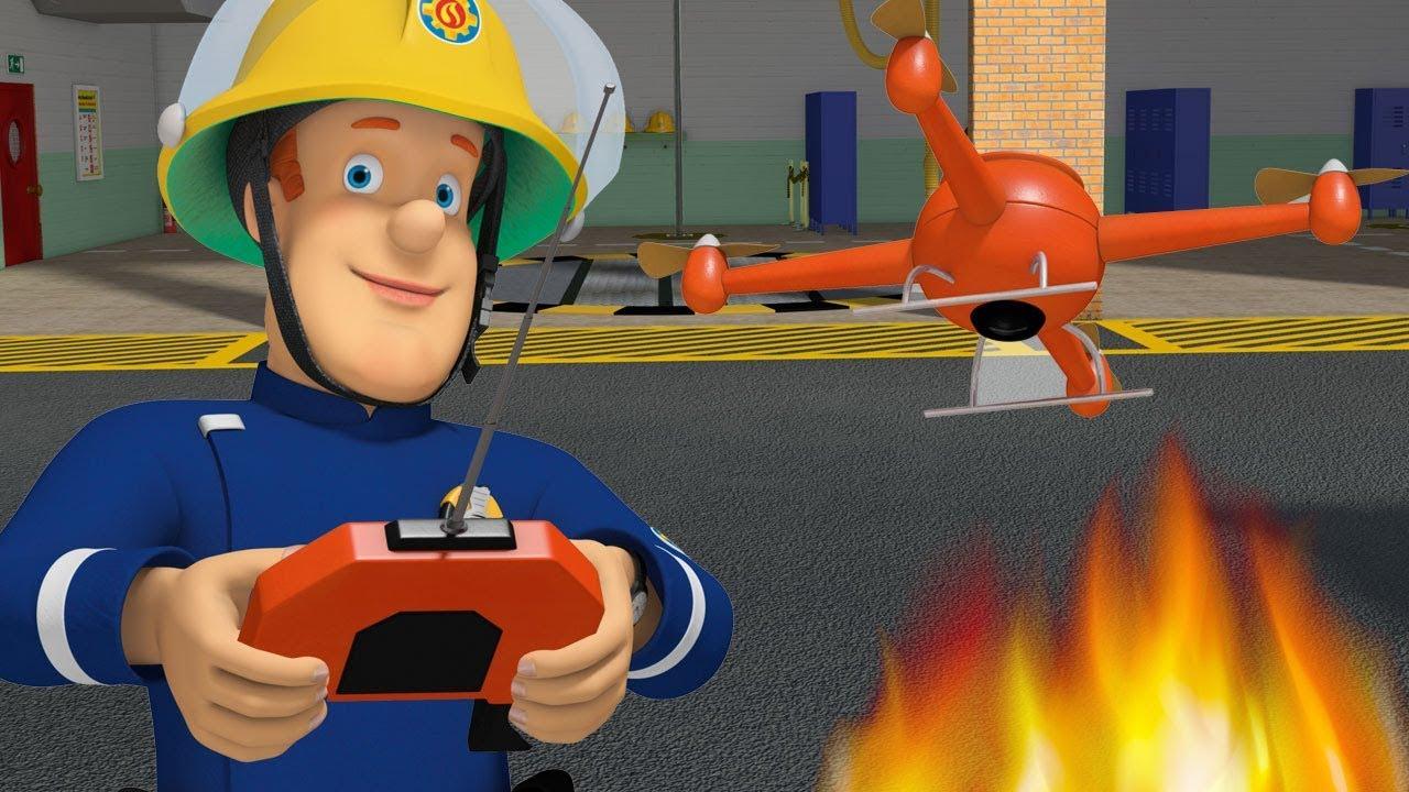 Sam le pompier en francais attention aux voies de chemin - Same le pompier francais ...