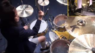 【 K-ON!! 】 けいおん!! GO! GO! MANIAC (Full) 叩いてみた Drum cover けいおん! 検索動画 13