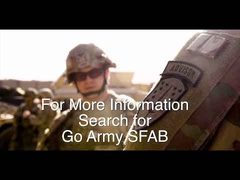 Fort Report SFAB Recruiting Team Visit