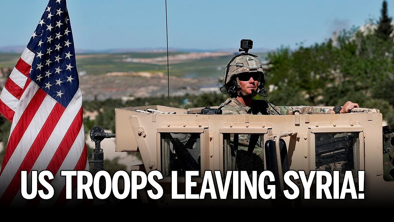 Image result for IMAGES OF US TROOPS LEAVING SYRIA