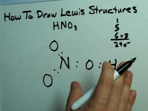 Lewis Structures for Acids