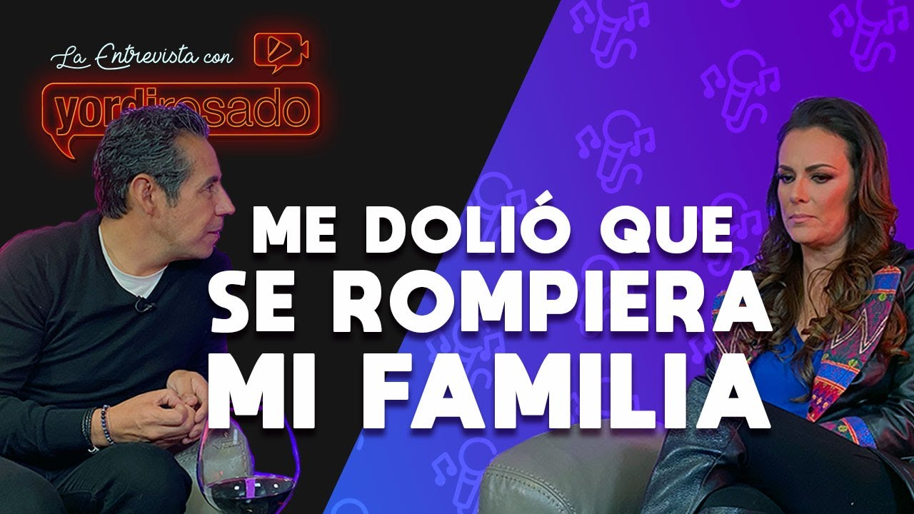 ME DOLIÓ que se ROMPIERA MI FAMILIA | Edith Márquez | La entrevista con Yordi Rosado