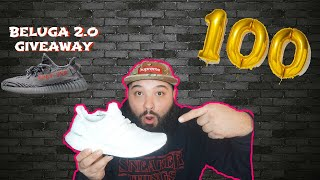 ADIDAS ULTRA BOOST 4.0 CORE WHITE UNBOXING & REVIEW!!! YEEZY BELUGA 2.0 GIVEAWAY!!! MY 100th EPISODE
