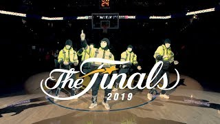JABBAWOCKEEZ at the NBA Finals 2019