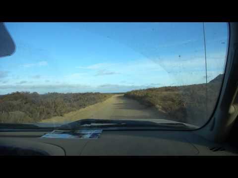 Driving at San Nicolas Island, CA.