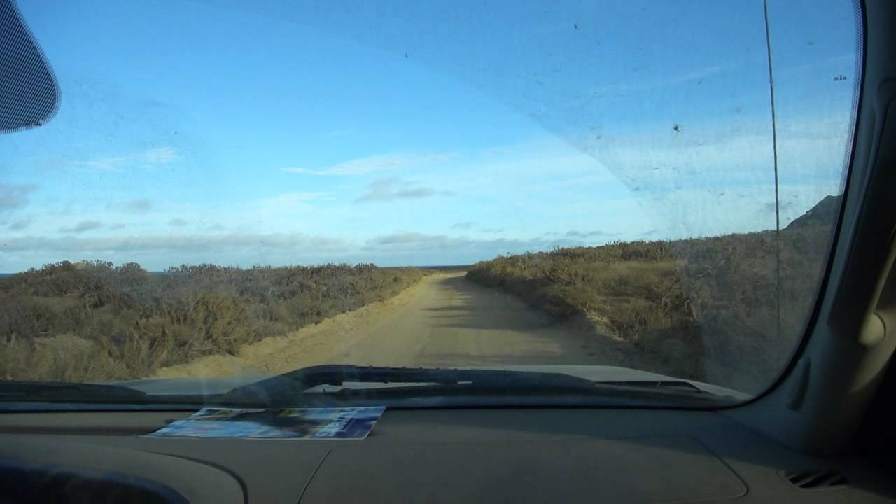 Driving At San Nicolas Island Ca