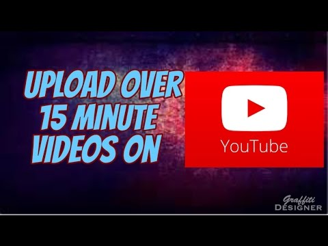 How to upload over 15 minute videos on iphone
