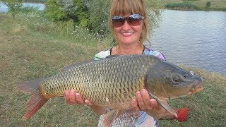 Женщины на рыбалке. My fishing