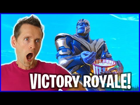 Victory Royale As THANOS In The New Infinity Gauntlet Limited Time Mode