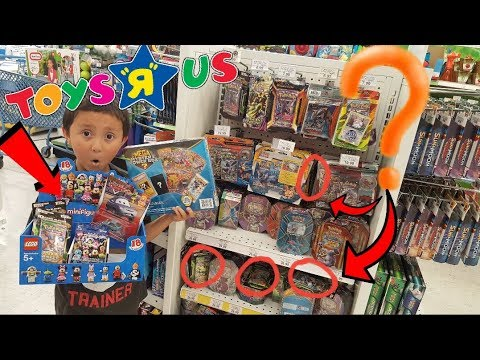 Hunting & Opening Hidden Pokemon Cards From Toysrus! A Whole Box Of Toys! Mega Mystery Power Box!