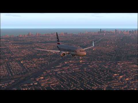 Descent and landing at KSFO - Zibo mod B737-800 with RG mod