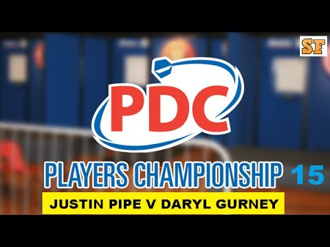 Players Championshp 15 - Semi Final [2of2]: Justin Pipe v Daryl Gurney