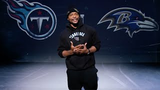 Eddie George Hypes You Up For Titans-Ravens Rematch