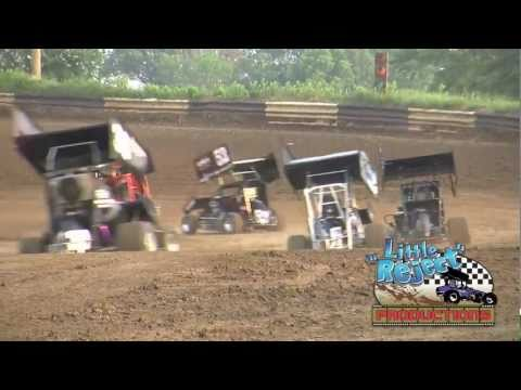 POWRi Midgets and Micros at the Fayette County Speedway June 3rd, 2011