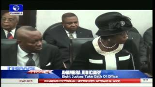 Anambra State Governor Swears In Eight New Judges