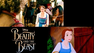 belle song disney s beauty and the beast comparison 1991 vs 2017 animated vs live action