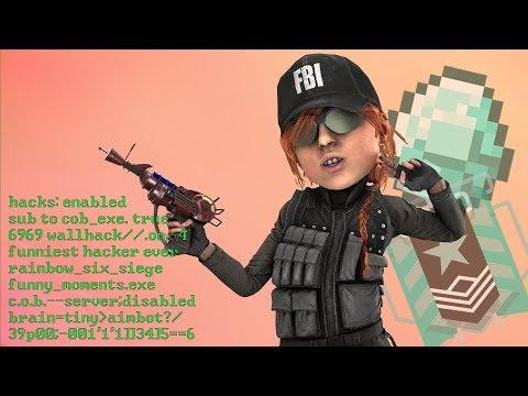 Worlds Funniest Hacker in Rainbow Six Siege