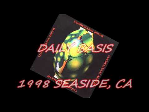 "Major Investments ""Daily Basis"" (Seaside, CA 1998) G-Funk Smooth ¤DoPe¤"