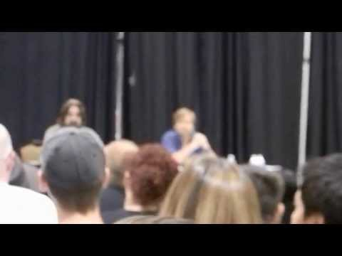 2013 Comic Con, Detroit Mi Sean Patrick Flanery and David Della Rocco