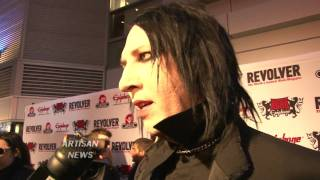 vuclip MARILYN MANSON ON LADY GAGA BEING INFLUENCED BY HIM, DENIES SEX ALLEGATIONS