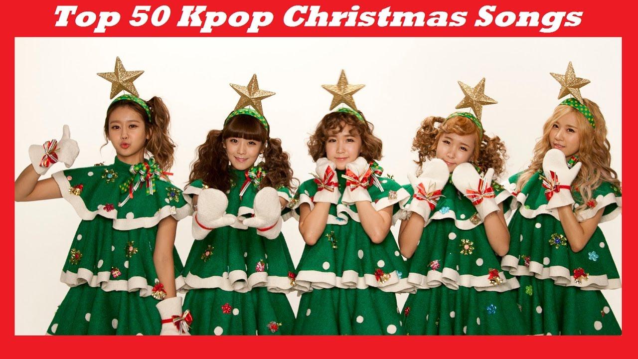 Top 50 Kpop Christmas Songs - YouTube