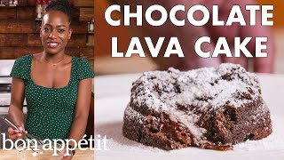 Chrissy Makes Chocolate Lava Cake | From the Home Kitchen | Bon Appétit