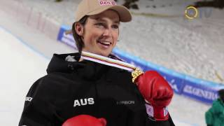 Scotty James does it again - 2017 World Championships - Halfpipe World Champion スコッティジェームス 検索動画 26