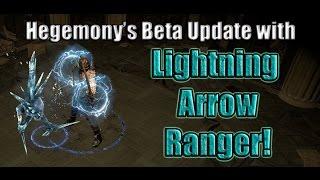 Path of Exile Act 4 Beta: Hegemony's Lightning Arrow Ranger Update