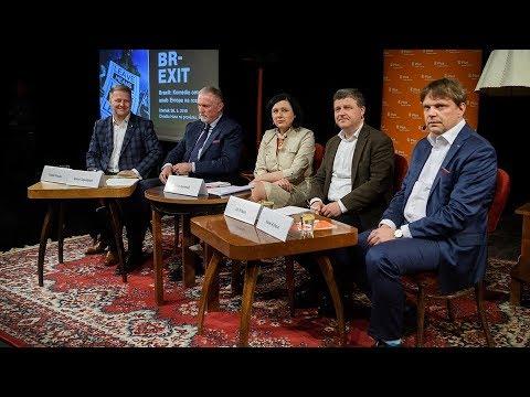 Brexit: Komedie omylů? aneb Evropa na rozcestí. Veřejná debata v Brně