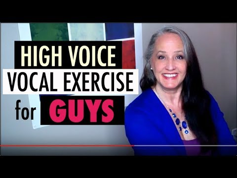 High Voice Vocal Exercise for Guys! High Notes for Low Voices